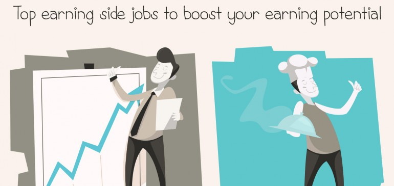 Top Paying Side Jobs – Infographic