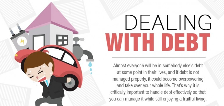Dealing With Debt – Infographic